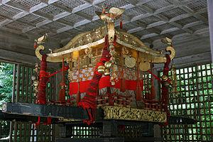 Mikoshi - A mikoshi of Hiyoshi-taisha.