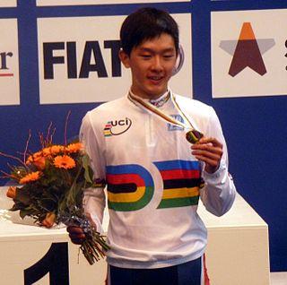 Kwok Ho Ting Racing cyclist