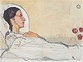 Hodler - Valentine Godé-Darel im Krankenbett - 1914.jpeg