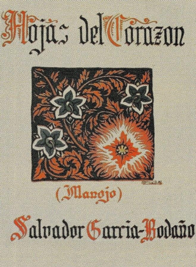 Hojas del corazón de Salvador García-Bodaño, La Coruña, Moret, 1928