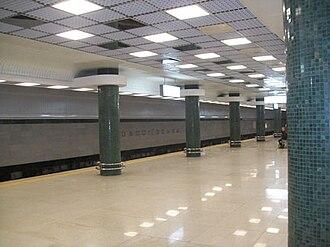 Obolonsko–Teremkivska Line - Holosiivska station