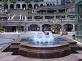 Hong Kong. Kowloon, Peninsula Hotel, Fountain.JPG