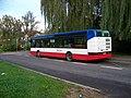 Hostavice, autobus 1025, zezadu.jpg