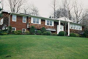 Villa, Long Island, New York, USA.