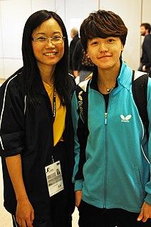 Huang Yi-hua Taiwanese table tennis player