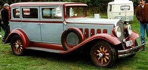 Hudson Greater Eight - Image: Hudson 4 D Sedan 1931
