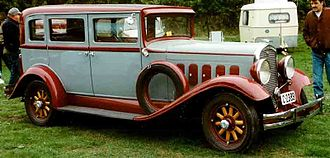 Hudson Motor Car Company - 1931 Hudson 4-Door Sedan