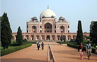 December 11: Coronation ceremonies in new capital of India, New Delhi, site of Humayun's Tomb