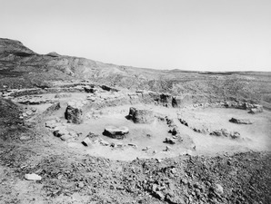 Hus IV och V efter utgrävningen. Kythrea - SMVK - C03206.tif