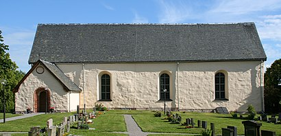 How to get to Husby Långhundra Kyrka with public transit - About the place
