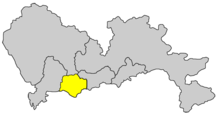 Location within Shenzhen City