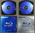 IFA 2005 Panasonic Blu-ray Discs Single and Dual Layer BD-RE (Cartridge) (by HDTVTotalDOTcom).jpg