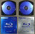IFA 2005 Panasonic Blu-ray Discs Single and Dual Layer BD-RE (Cartridge) (by HDTVTotalDOTcom).jpg