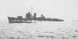 Japanese destroyer Suzukaze - Image: IJN DD Suzukaze in 1937