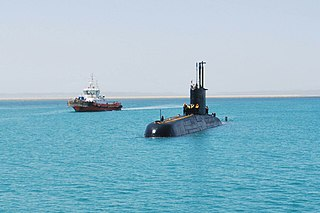 <i>Shishumar</i>-class submarine diesel-electric attack submarines of the Indian Navy