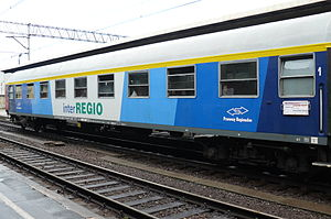 Przewozy Regionalne - A typical InterRegio carriage