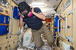 ISS-44 Kjell Lindgren emergency training in the Rassvet module (2).jpg