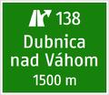 IS 1b - Návesť pred križovatkou (dva riadky).png