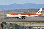 Iberia, Airbus A321-212, EC-JZM - MAD (22325599970).jpg
