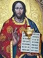 Icon of Jesus in Svyato-Uspenskiy Cathedral - Poltava - Ukraine (43823900411).jpg
