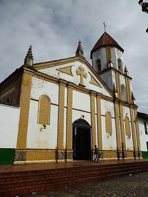 San Agustín, Huila - Image: Iglesia de San Agustín, Huila