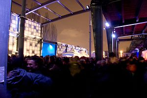 Igloofest - Third year of Igloofest in January 2009