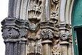 Igreja de Santa Bárbara (cedros), aspecto da porta, Cedros, concelho da Horta, ilha do Faial, Portugal.JPG