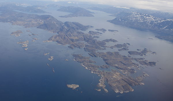 Bodies of water of greenland for Fjord wikipedia