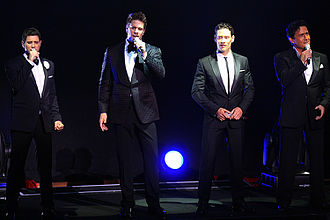 Il Divo - Il Divo live in Sydney on 14 February 2012
