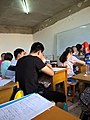 In a extra-curricular tuition class Tieling High School Class 11 Grade 2018 04.jpg