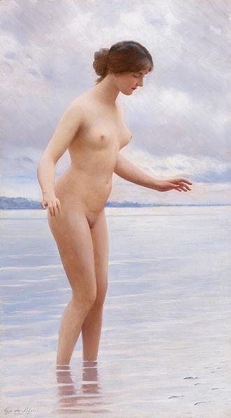File:In the Water by Eugen von Blaas (1843-1931).jpg