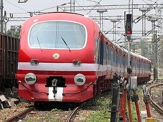 Ludhiana - A DMU Train in Ludhiana