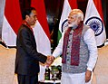 Indonesian President Joko Widodo meeting with Indian Prime Minister Narendra Modi on the sidelines of the 2018 ASEAN-India Summit in New Delhi (2).jpg