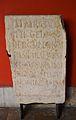 Inscripció votiva MARCUS MARCI, Museu de Belles Arts de València.JPG