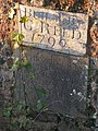 Inscription on abandoned former Rockbeare Bridge - geograph.org.uk - 1623616.jpg