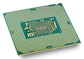 Skylake (microarchitecture) - Image: Intel CPU Core i 7 6700K Skylake perspective