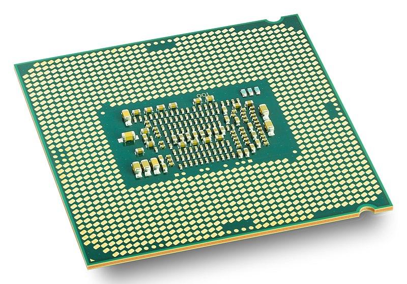 An image of a CPU