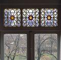 Interieur, aanzicht glas-in-loodraam - 's-Gravenhage - 20367500 - RCE.jpg