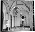 Interior,vestibule looking north - Indianapolis City Hall, 202 North Alabama, Indianapolis, Marion County, IN HABS IND,49-IND,30-5.tif