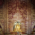 Interior Viharn Lai Kam Phra Singh Temple 3 2010.jpg
