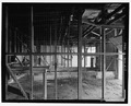 Interior view of garage bay, looking north - Fort Baker, Garage, Umia Street parking lot, Sausalito, Marin County, CA HABS CA-2643-E-7.tif