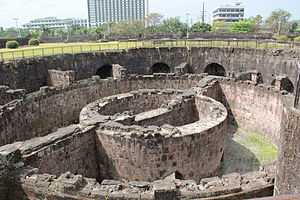 The Amazing Race Philippines 2 - The ruins of Baluarte de San Diego in Intramuros, Manila served as backdrop of the starting line for the second season of The Amazing Race Philippines.