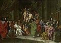 Inwijding van een nieuw lid van de Bentveughels te Rome Rijksmuseum SK-A-4672.jpeg