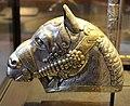 Iran regione di kerman, testa di cavallo in argento, IV sec. 02.JPG