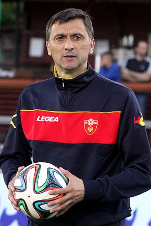 Dragoje Leković - Image: Iran vs. Montenegro 2014 05 26 (136)