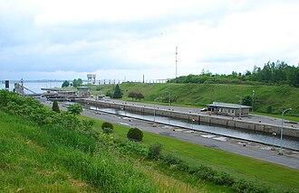 Saint Lawrence Seaway - Iroquois Locks