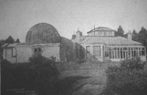 Isaac Roberts - Starfield: Isaac Roberts's observatory and home in Crowborough, Sussex