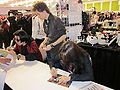 Ishiwatari & Mori signing at FanimeCon 2010-05-29 3.JPG
