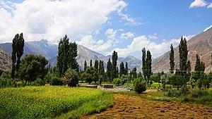Ishkoman Valley - Ishkoman Valley in summer