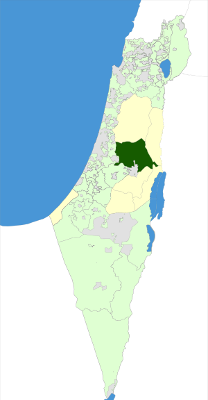 Israel Map - Mateh Binyamin Regional Council.svg